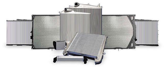 Ремонт радіаторів та інтеркулерів до грузових і легкових автомобілів.