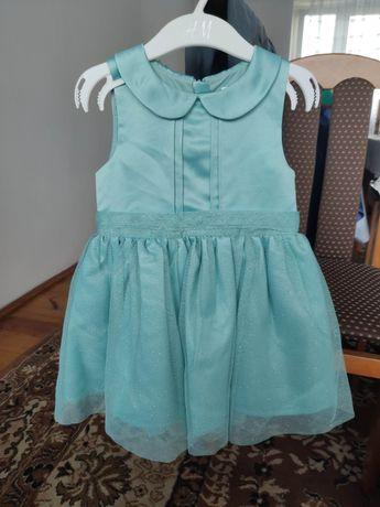 Sukienka Next 92 tiul, brokat, wesele