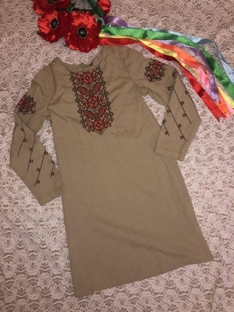 Платье-вышиванка Edelvika на 9лет.