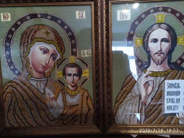 Продам дуже красиві венчальнні ікони