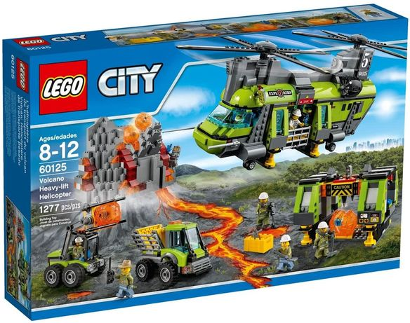 "Super Lote Lego City ""Volcano Explorers"""