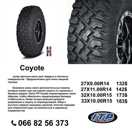 Шины, резина, покрышки,колеса ITP Coyote Koyote 32-10-15 8PR