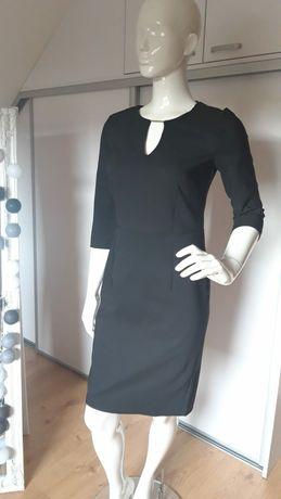 Sukienka nowa czarna elegancka wizytowa rozmiar 36