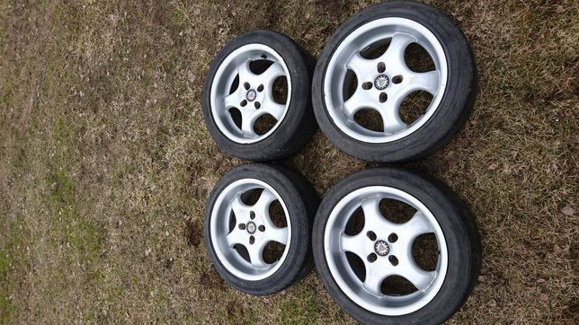 "Felgi aluminiowe 16"" 4x100 z oponami (Renault Clio)"