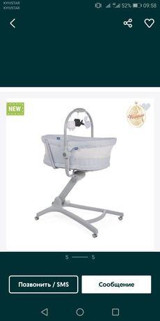 Кроватка-стульчик BABY HUG 4 В 1 LIMITED EDITION