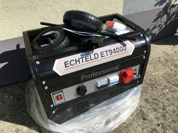 Nowy Agregat Professional ECHTELD ET94000 -Zasilanie: 230v 380v