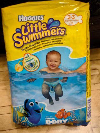 Трусы памперсы Huggies для купания, размер 2-3, 3-8 кг, 12 шт.