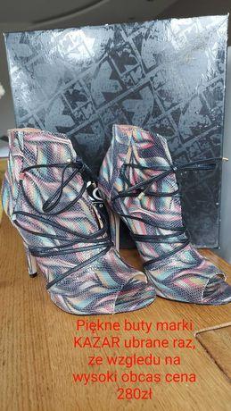 Buty na obcasie KAZAR rozmiar 39