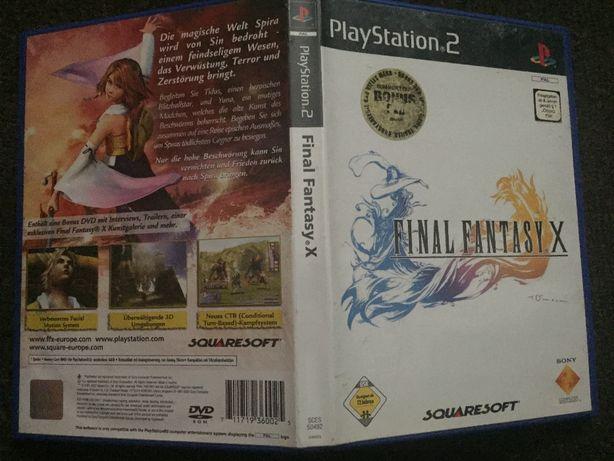 Sprzedam grę na konsolę PS2: Final Fantasy X