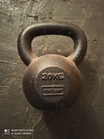 Kettlebel zeliwny 20 kg