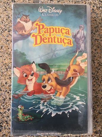 Cassete VHS Papuça e Dentuça