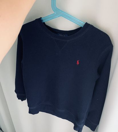Bluza chlopięca Ralph Lauren r.110 granatowa