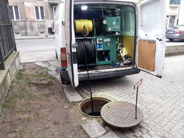 Udrażnianie rur Ciśnieniowo,Przepychanie kanalizacji