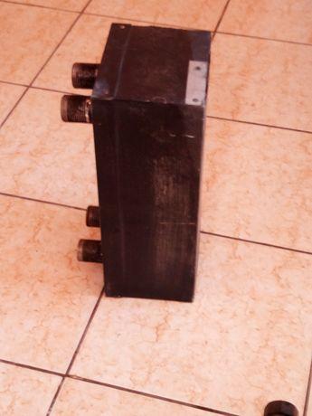Теплообмінник тєплообменик пластинчастий мідь 200 кВт