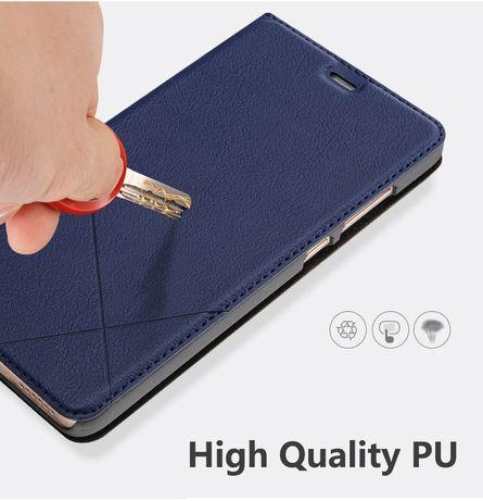 Шкіряний чохол книжка для Xiaomi Redmi note 8 Pro