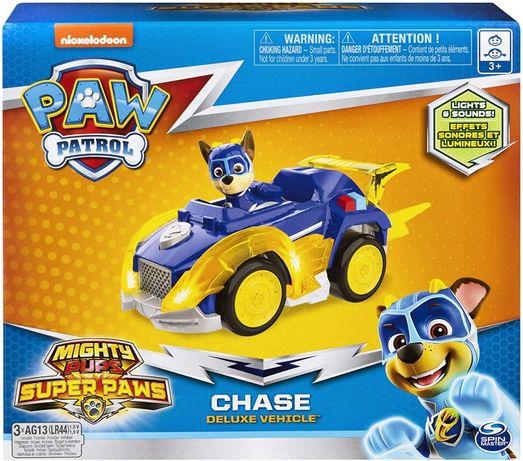 Paw Patrol Щенячий патруль Гонщик Чейз на машине со светом и звуком