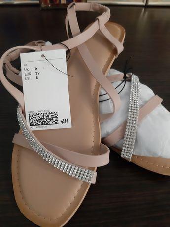 Продам женские босоножки H&M 39 размер