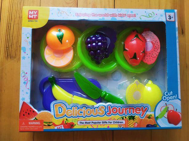 Фрукти на липучці посудка овощи на липучках набор фруктов на липучке