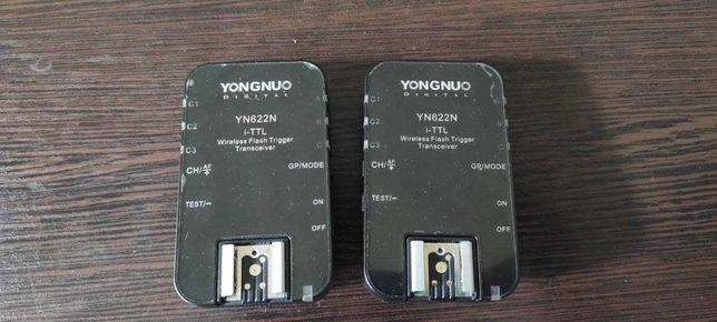 Синхронизаторы Yongnuo YN622C для nikon майже нові
