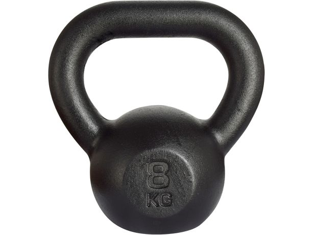 Kettlebell żeliwny RAW 8 kg