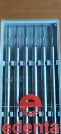 Brocas de aço de fissura tamanho 016 protese dentaria 17 caixas