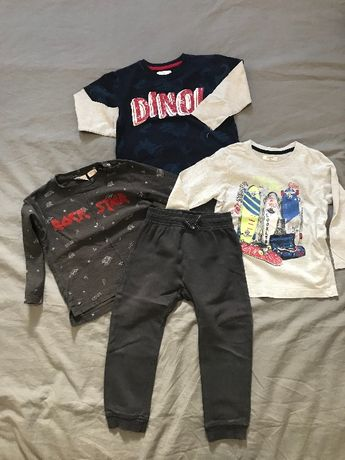 Paczka ubrań rozmiar 98 chłopiec ZARA H&M Reserved Lupilu Pepco