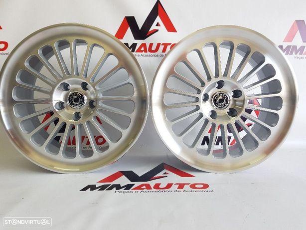 Jantes Wrath WF8 Silver Polished 18 (AUDi, VW, Mercedes)