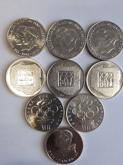 Monety Srebrne PRL Inowrocław - image 1