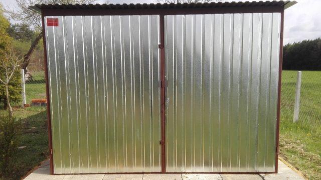 Garaz blaszany blacha ocynkowana