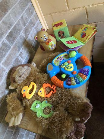 Пакет игрушек Развивающие игрушки музыкальный руль