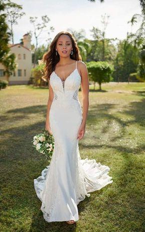 Śliczna Suknia Ślubna Stella York roz. 34/36 + GRATISY