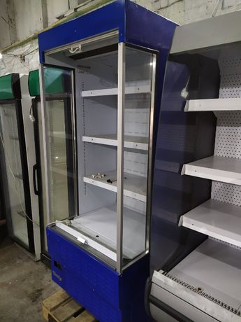 Стеллаж холодильный б/у, холодильная витрина б у, Регал бу Everest