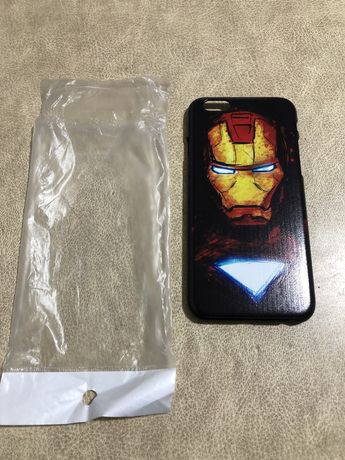 Etui apple iphone 6 6s iron man nowe