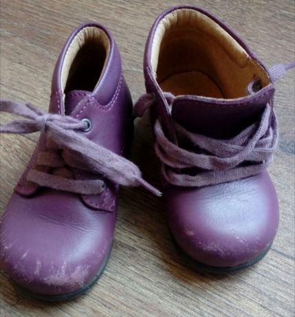 Цена снижена! Детские кожанные ботинки Pat&Ripaton, размер 20 (12,5 см