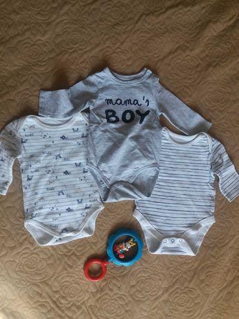 Боді для новонароджених, 56 розмір, бодики