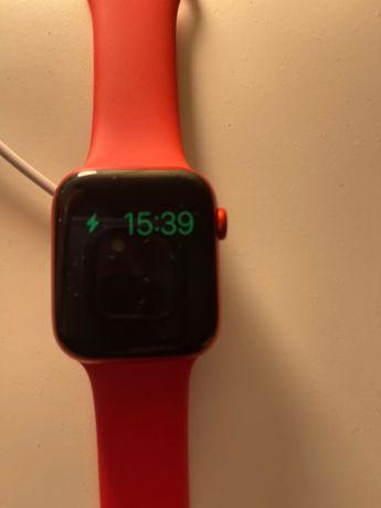 Apple Watch Series 6 (GPS, 44 mm) caixa de alumínio (PRODUCT)red