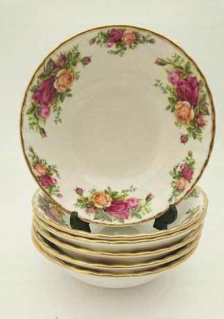 6x Miseczka Na Zupe Royal Albert Old Country Roses