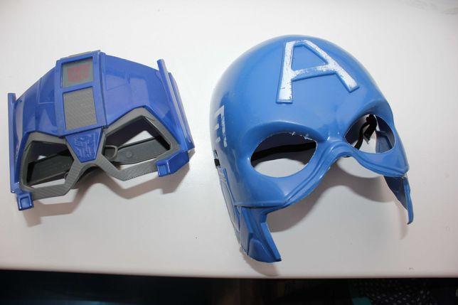 маска супергероя трансформер