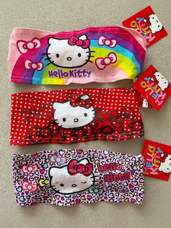 Повязка для волос (3 шт) Hello Kitty, Заколка, Резинка