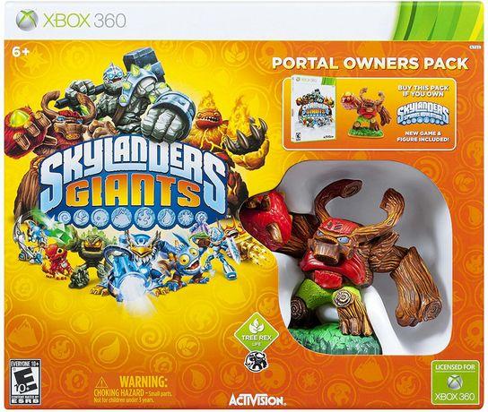 FIGURKA tree rex + GRA SKYLANDERS giants XBOX 360