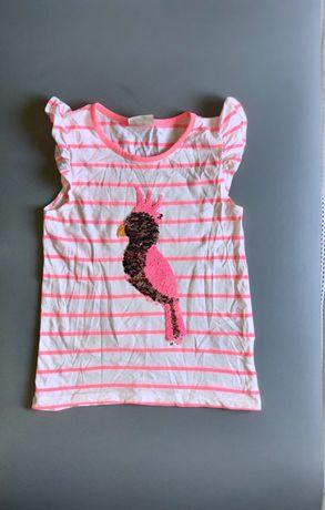 Яркая футболка для девочки lC WAlKIKI