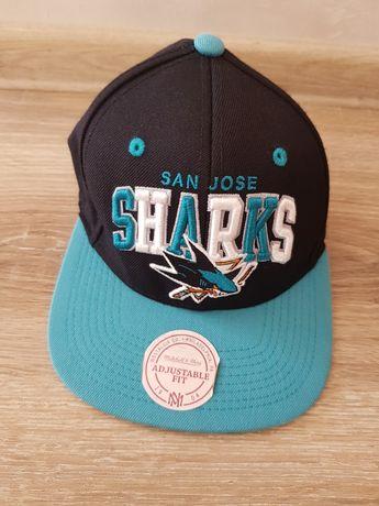 Czapka San Jose Shark NHL Mitchell&Ness USA