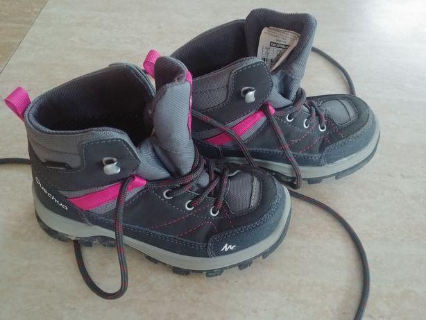 Buty trekkingowe mh500 decathlon Quechua dziewczynka 28