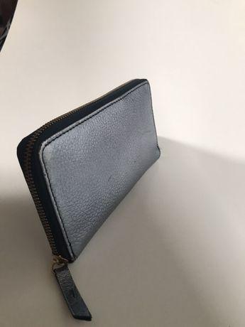 Skórzany portfel stan/ kopertówka bdb