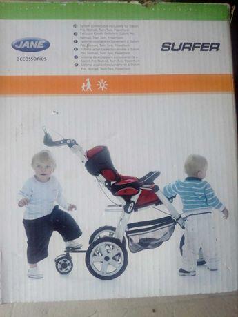 серфер,прицеп,детская коляска,подножка JANE