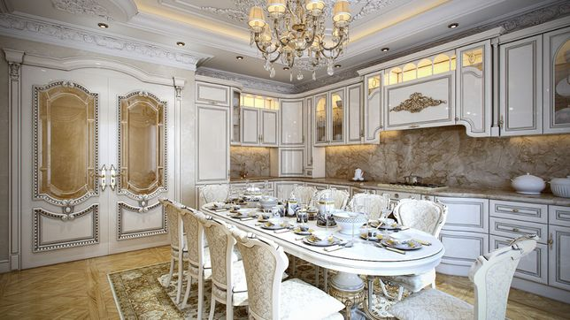 Кухня барокко,рококо, класика