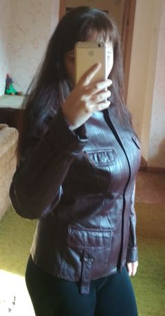Кожаная курточка и пальто