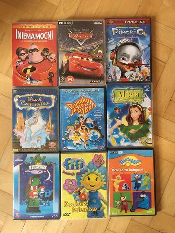 Zestaw 9 filmów DVD