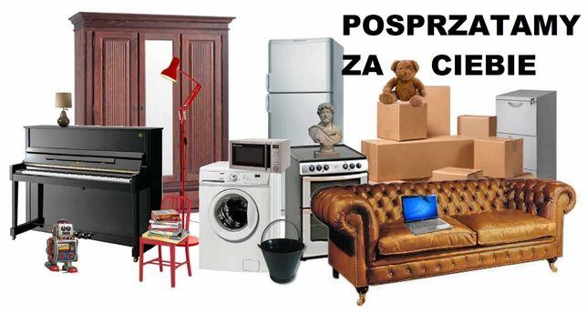 OPRÓŻNIANIE, WYWÓZ, UTYLIZACJA sprzątanie: mieszkań domów piwnic ...