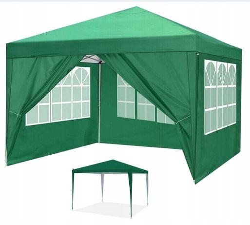 SUPER CENA!!! Pawilon Ogrodowy Namiot Handlowy 3x3m + 3 Ścianki